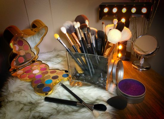 front makeup brushes