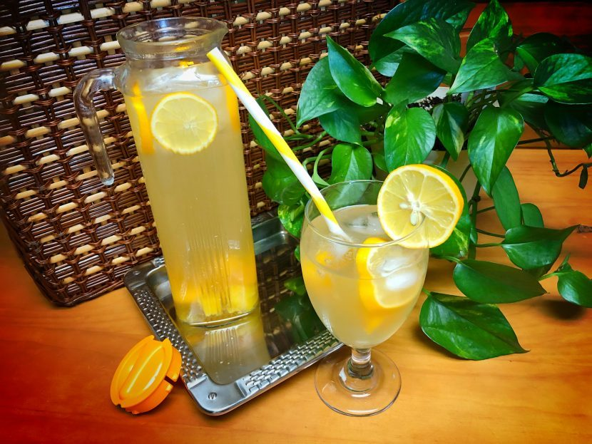 Infused water drink