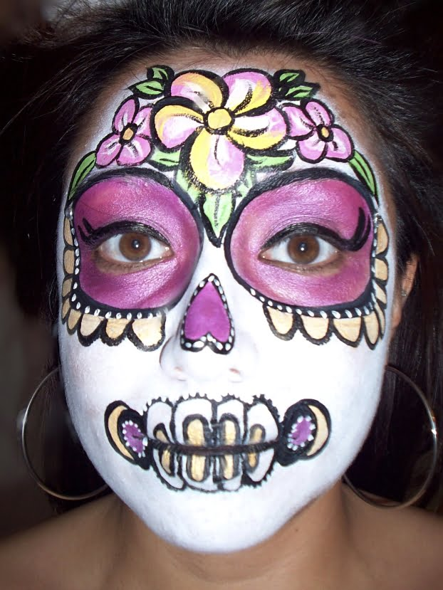 facepaint candid dayofthedead