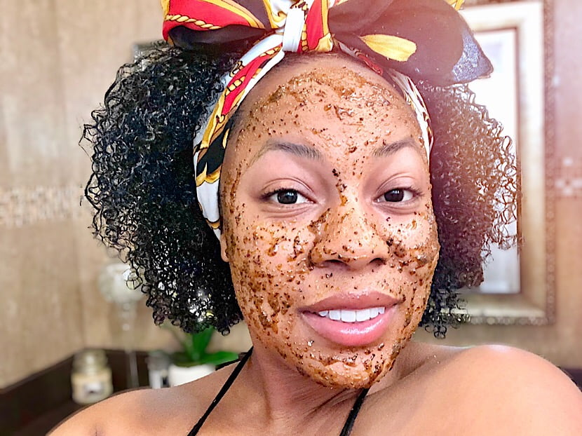 Renewing Face Oil Scrub DIY